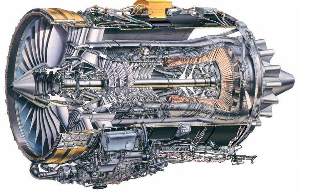BR 710 (Rolls-Royce) for Global express GV