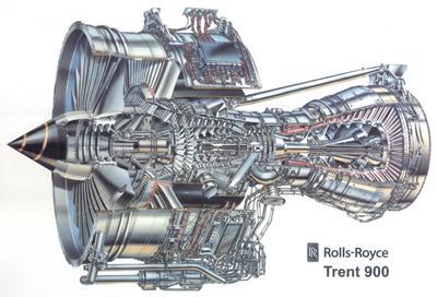Trent 900 (Rolls-Royce) for airbus 380
